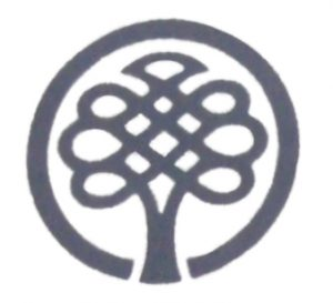 logo with tree in circle