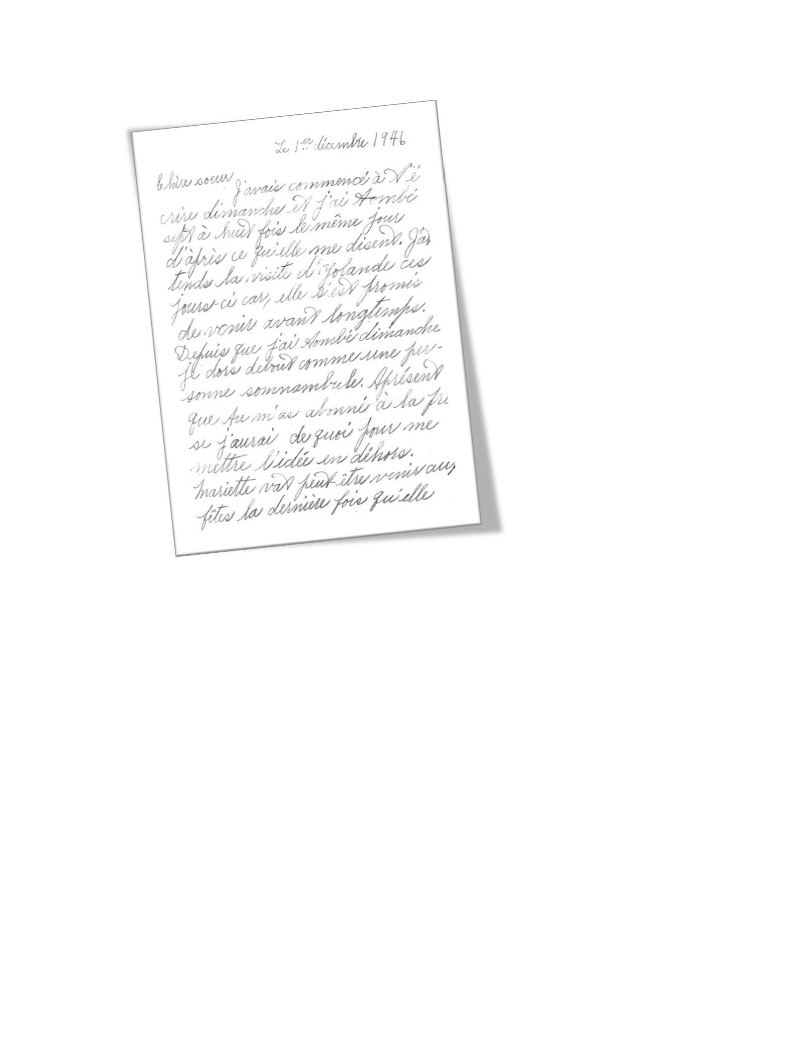 samples of handwriting