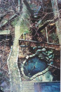 pond and pathways